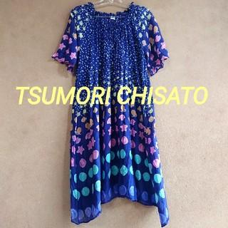 ツモリチサト(TSUMORI CHISATO)のtsumoto chisato SLEEP 夏物ルームウェアワンピース Mサイズ(ルームウェア)