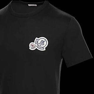 モンクレール(MONCLER)の★希少★MONCLER Wロゴワッペン Tシャツ  モンクレール 国内正規品(Tシャツ/カットソー(半袖/袖なし))