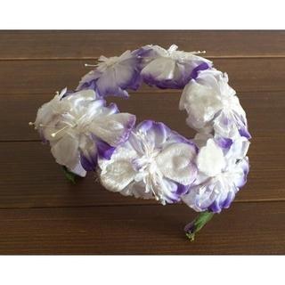 アンティーク ヘッドドレス ヴィンテージ ウエディング 花冠(その他)