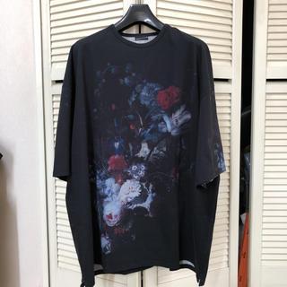 LAD MUSICIAN - LAD MUSICIAN 2019SS 花柄スーパービッグTシャツ