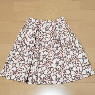 クレイサス(CLATHAS)の新品★クレイサス★CLATHAS★カメリア★スカート★ピンク(ひざ丈スカート)