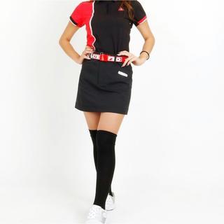 ルコックスポルティフ(le coq sportif)のle coq golf ルコックゴルフ レディース スカート 黒 L(ウエア)