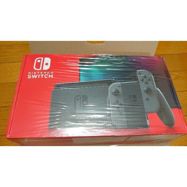 任天堂(ニンテンドウ)のNintendo Switch 本体 (ニンテンドースイッチ)  グレー 新品 エンタメ/ホビーのゲームソフト/ゲーム機本体(携帯用ゲーム機本体)の商品写真