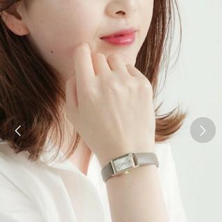 エテ(ete)の【ete】腕時計(レクタングルフェイス ダイヤモンド)(腕時計)