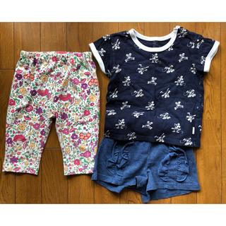 ユニクロ(UNIQLO)の子ども服 セット(Tシャツ/カットソー)