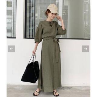アパルトモンドゥーズィエムクラス(L'Appartement DEUXIEME CLASSE)のL'Appartement Linen Madam Dress(ロングワンピース/マキシワンピース)