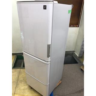 シャープ(SHARP)のSHARP 3ドア冷凍冷蔵庫 SJ-PW35C-C 2016(冷蔵庫)