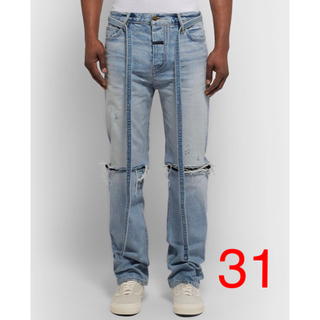FEAR OF GOD - FEAR OF GOD Relaxed Denim Jean 31