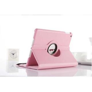 iPad Air2 ピンク シンプル タブレットケース(iPadケース)