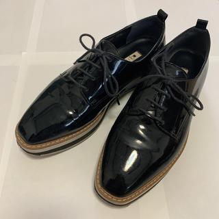 ダイアナ(DIANA)の【DIANA】エナメル レースアップシューズ(ローファー/革靴)