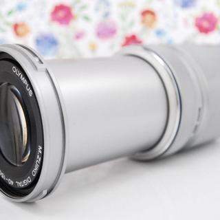 オリンパス(OLYMPUS)の★美品★望遠レンズ OLYMPUS オリンパス M.ZUIKO 40-150mm(レンズ(ズーム))