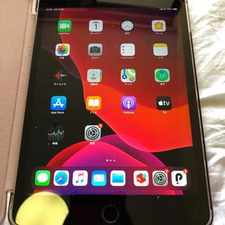 アップル(Apple)のiPad mini4 SIMフリー 128GB 付属品完備(タブレット)