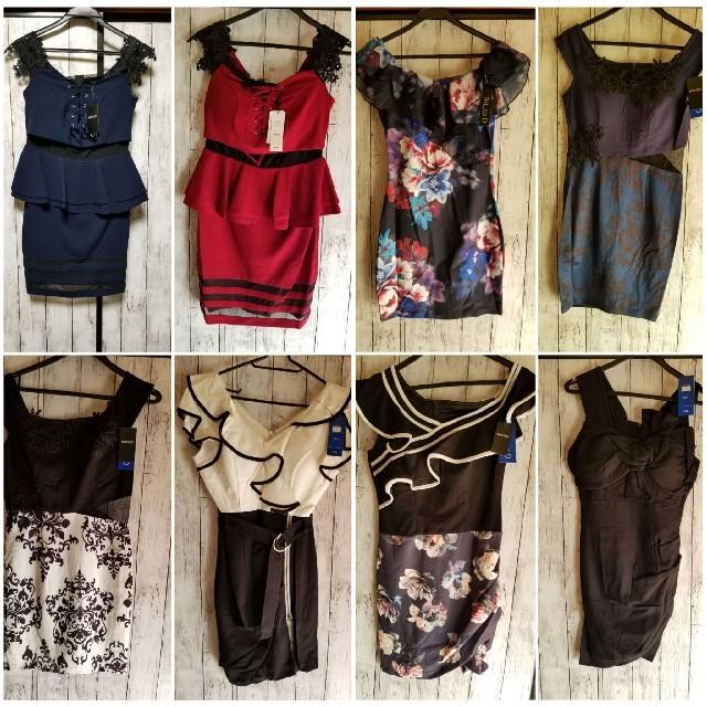 キャバワンピース セット レディースのフォーマル/ドレス(ナイトドレス)の商品写真