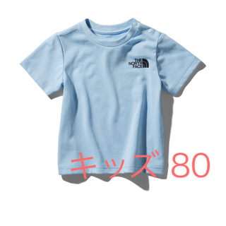 THE NORTH FACE - 【新品】キッズ Tシャツ ブルー 80
