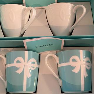 ティファニー(Tiffany & Co.)のティファニー マグカップ セット 未使用品 訳あり(グラス/カップ)