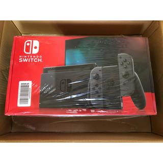 Nintendo Switch - Nintendo Switch 本体 グレー 新品未使用 24時間以内発送対応