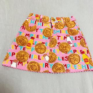 シャーリーテンプル(Shirley Temple)の夏服☆シャーリーテンプル ビスケ柄スカート110cm (スカート)