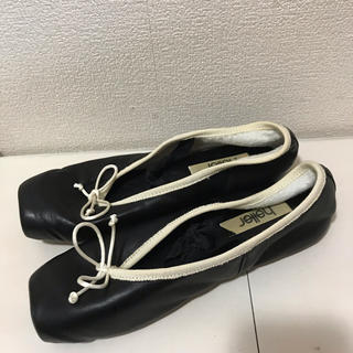 レペット(repetto)のバレエシューズ ぺったんこ靴 トウシューズ 色ブラック 黒(バレエシューズ)