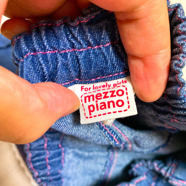 mezzo piano(メゾピアノ)の夏服 メゾピアノ 美品 120cm  キッズ/ベビー/マタニティのキッズ服女の子用(90cm~)(スカート)の商品写真