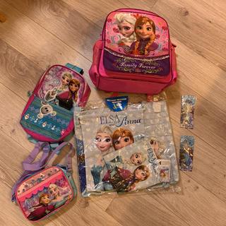 アナトユキノジョオウ(アナと雪の女王)の女の子 バッグ リュック  アナ雪 ディズニー(キャラクターグッズ)