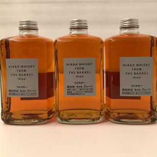 ニッカウイスキー(ニッカウヰスキー)のフロムザバレル3本セット(ウイスキー)