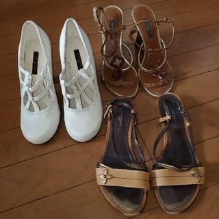 ルイヴィトン(LOUIS VUITTON)の3点本物ルイヴィトン靴(サンダル)