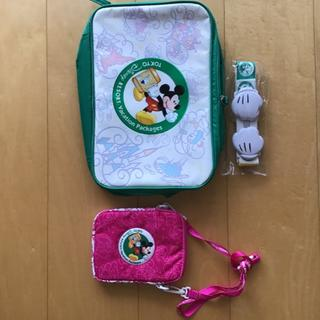 ディズニー(Disney)のディズニー バケーションパッケージ ランチバッグとパスケース(キャラクターグッズ)
