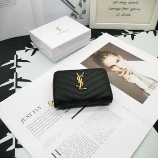 Yves Saint Laurent Beaute - ஐ超人気イヴサンローラン折り財❤布 Y♪S♪L 可愛いஐ