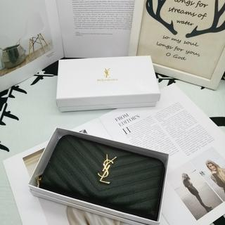 Yves Saint Laurent Beaute - ❁YSL イヴサンローラン長財❤布 ファスナー小銭♪入れ 超人気