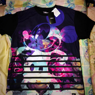 ディズニー(Disney)の希少‼️超綺麗‼️色映えるディズニー公認Tシャツ‼️Lサイズです‼️ (Tシャツ/カットソー(半袖/袖なし))