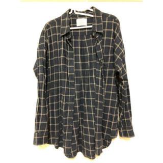 アングリッド(Ungrid)のUngrid☆ルーズチェックシャツ☆送料込(シャツ/ブラウス(長袖/七分))