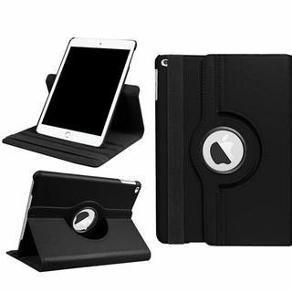 iPad mini4 ブラック シンプル タブレットケース(iPadケース)
