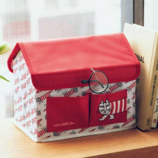 Lisa Larson - 新品未使用 リサラーソン  ハウス形 収納ボックス