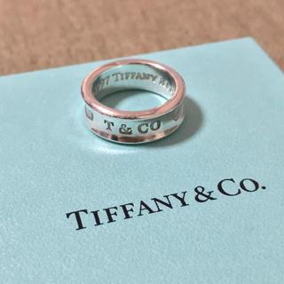 Tiffany & Co. - ティファニー 1837 ナロー リング 指輪 ワイド 9号 10号 925