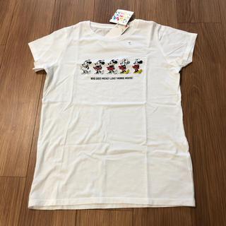 ユニクロ(UNIQLO)の【新品】ユニクロ  Tシャツ(Tシャツ/カットソー)