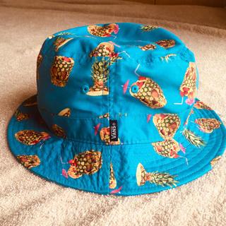 ヴァンズ(VANS)のバンズ パイナップルスカル ハット帽子(ハット)
