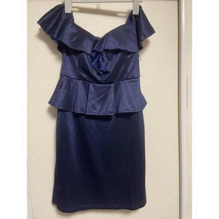 デイジーストア(dazzy store)のオフショル ペプラムドレス(ナイトドレス)