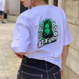 エックスガール(X-girl)のx-girl 3店舗限定Tシャツ(Tシャツ(半袖/袖なし))