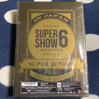 スーパージュニア(SUPER JUNIOR)のSUPERJUNIOR SUPER SHOW6 SS6 初回限定盤 DVD(K-POP/アジア)
