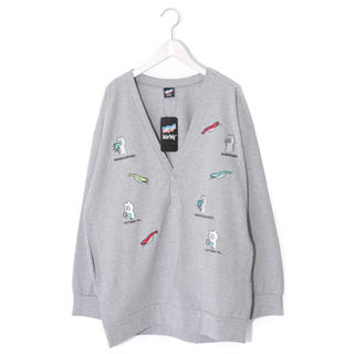 スカラー(ScoLar)のスカラー ScoLar クマ刺繍カーディガン 新品 未使用(カーディガン)