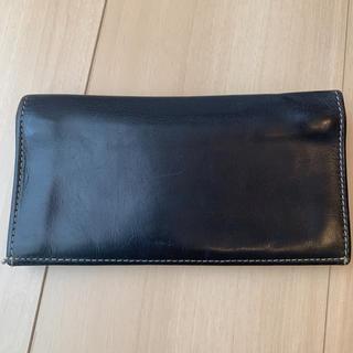 ホワイトハウスコックス(WHITEHOUSE COX)のホワイトハウスコックス 長財布 ネイビー(長財布)