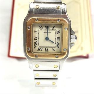 Cartier - 6/12まで カルティエ サントスガルベSM W20012C4 QZ 腕時計
