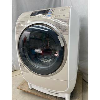 日立 - 日立 ドラム式洗濯乾燥機9.0kg ビッグドラム風アイロン BD-V3500L