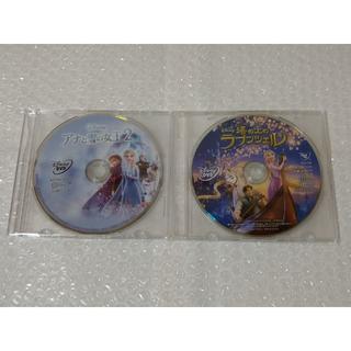 ディズニー(Disney)のアナと雪の女王2 塔の上のラプンツェル DVD 新品未再生 国内正規品(キッズ/ファミリー)