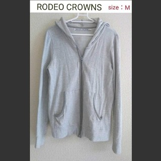 RODEO CROWNS - RODEO CROWNS 夏の薄手コットンパーカー 中古品