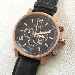 ブライトリング(BREITLING)のMAX XL WATCHES レザーベルト メンズ ブランド腕時計 新品(レザーベルト)