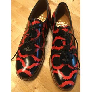 ヴィヴィアンウエストウッド(Vivienne Westwood)の未使用品 限定カラー グレンソン ダービーシューズ (ローファー/革靴)