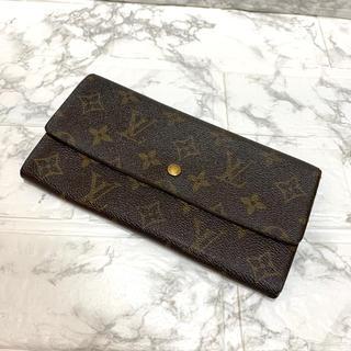 ルイヴィトン(LOUIS VUITTON)の正規品、ルイヴィトンモノグラム、長財布、即日発送(長財布)