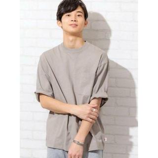 コーエン(coen)のUSAコットンヘビーウェイトビッグシルエットポケットTシャツ(Tシャツ/カットソー(半袖/袖なし))