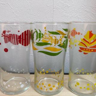 東洋佐々木ガラス - 明治スカットグラス 3個セット 未使用 箱付き